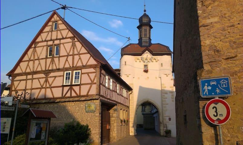 Wohlfühl B&B am Uhrturm Neu-Bamberg - Neu-Bamberg - Bed & Breakfast