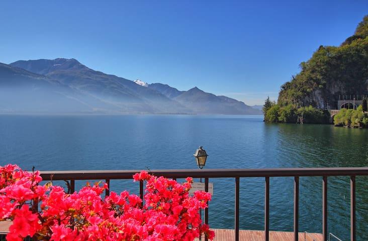Luxury lake view family apartment Como Lake - Dongo - Leilighet