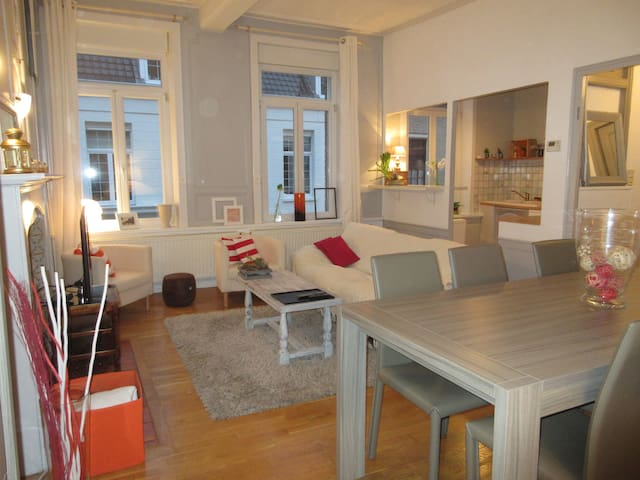 Appartement confortable en plein centre ville - Gravelines