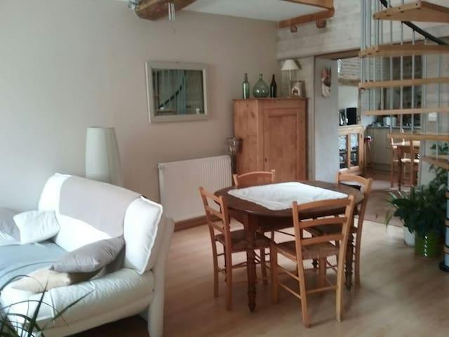 Chambre privée dans maison village - Chalamont - Hus