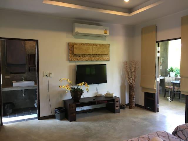 Bungalow in idyllischer Lage - Tambon Choeng Doi - Dom