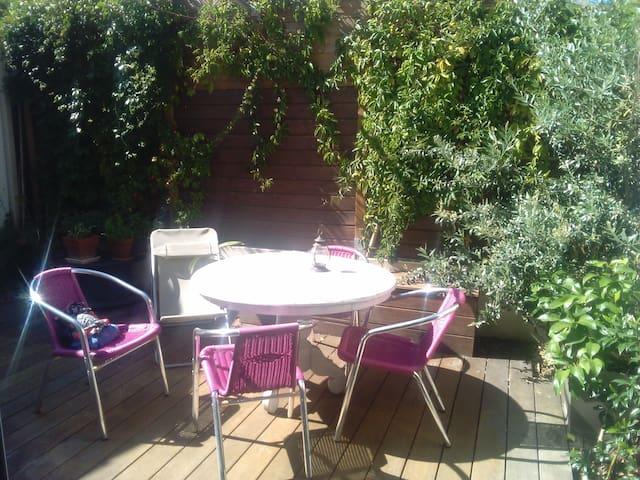 Maison 2 chambres + terrasse /proche centre ville - Perigny - Hus