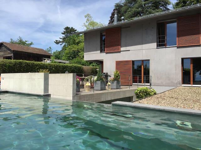 exceptional contemporary house - Aubonne - Casa