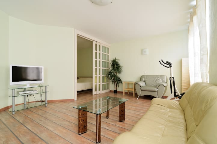 Studio apartment with one bedroom. - 聖彼得堡 - 公寓