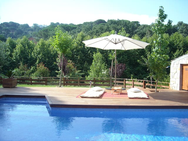 House in mountain with swimmingpool - Sant Celoni - Ev