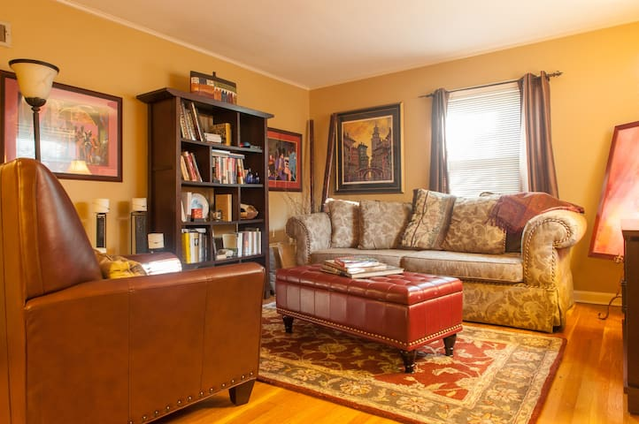 Twin Bed in Shared Room Near NYC -A - Teaneck - Hus