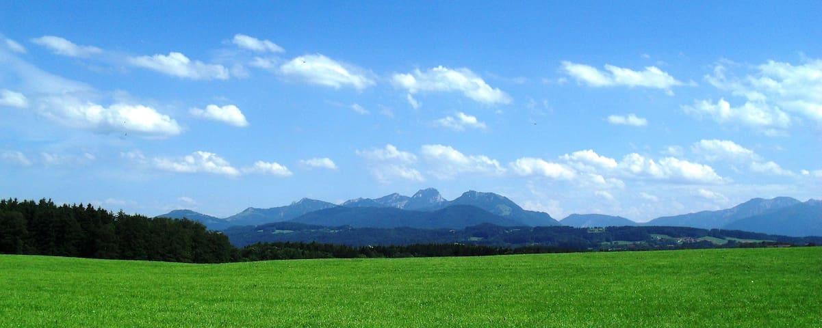 Loft with Mountain View - Feldkirchen-Westerham - Leilighet