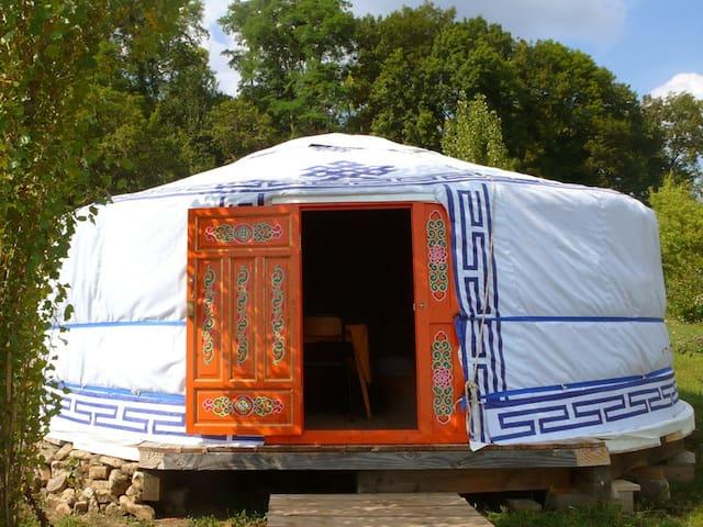 Yourte dans une ferme pédagogique - Genevreuille - Yurt