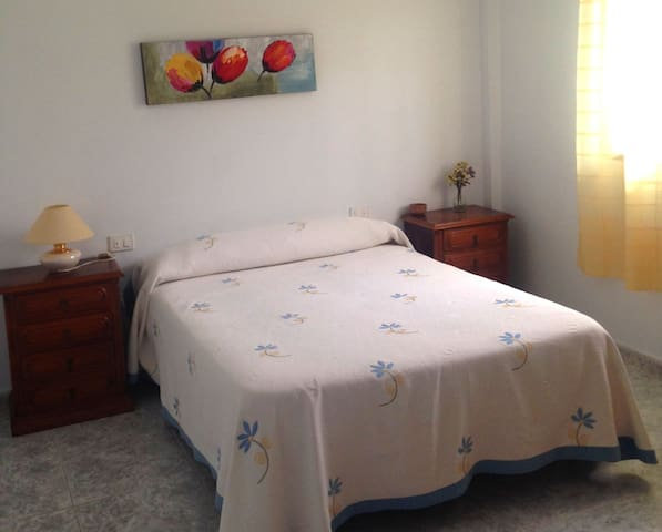Two double private rooms and barbacue access. - Celeiro - Appartement en résidence