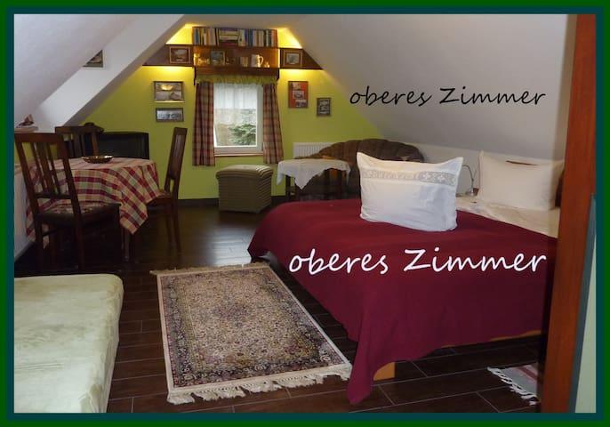 casa vicus nova - oberes Zimmer - Hohnstein - Appartement