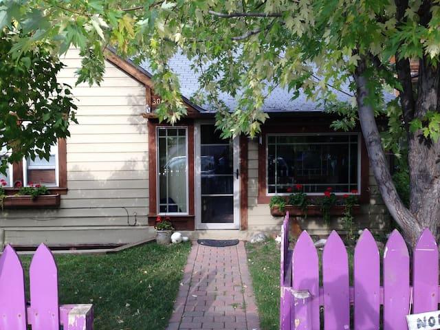 Beautiful cabin style home on river - Minturn - 獨棟