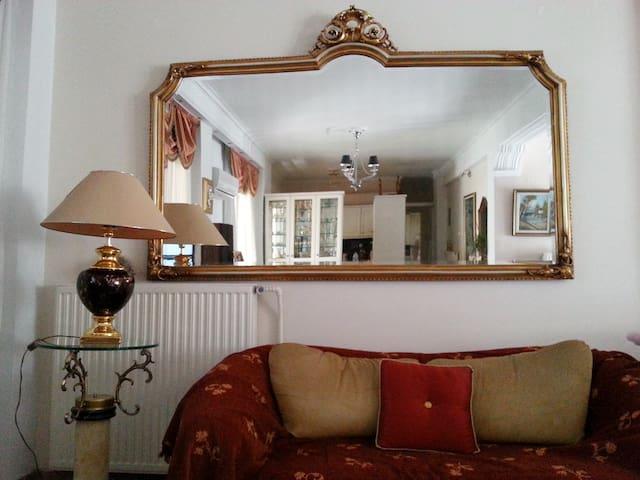 Large terrace luxury apartment - Κόρινθος - Appartement