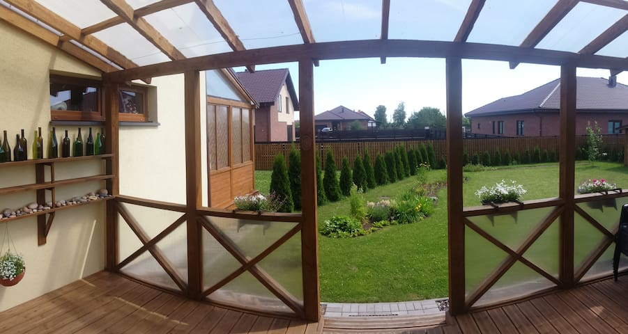 Summer Dream House near the Seaside - Klaipėda - Huis