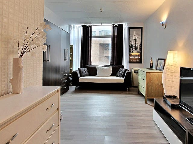 Cozy Loft in Downtown Quebec City - Quebec City - 公寓