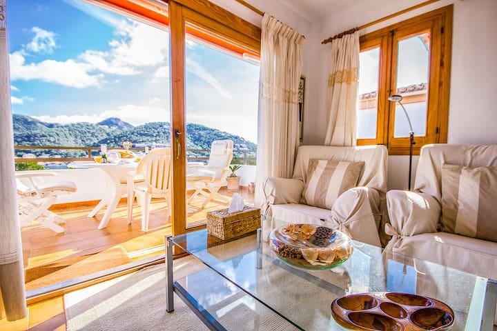 Puerto Andratx  Bonito apartamento, vistas al mar - Andratx - Appartement