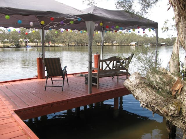 Lovely Aussie riverfront cottage - South Yunderup - Talo