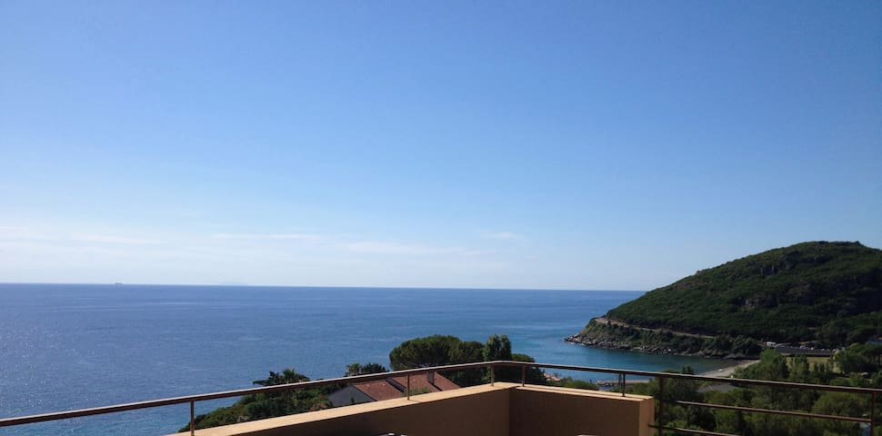 CORSE , Sisco  Vue imprenable sur mer et montagne - Sisco