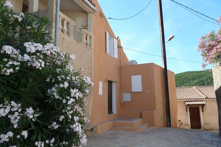 Maison de famille dans village typique et calme - Tomino - Leilighet