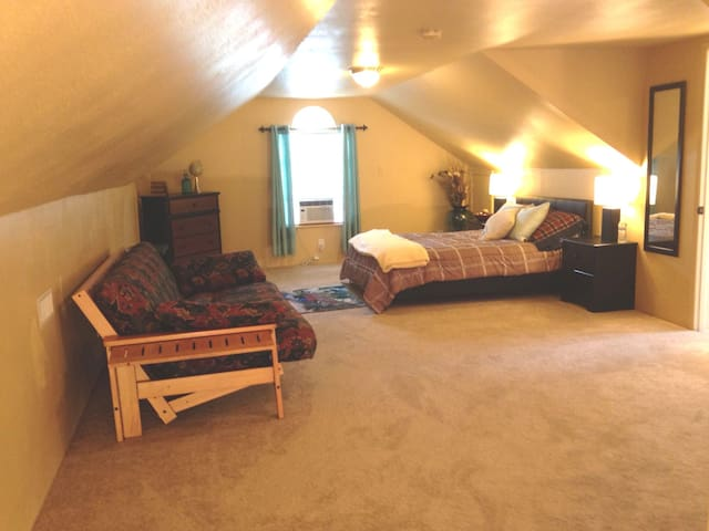 Lg Room and Bath w/ A/C and WiFi in Kent - Kent