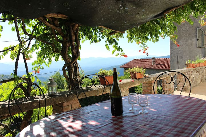 Historic house with pool and stunning views! - Fivizzano - Huis