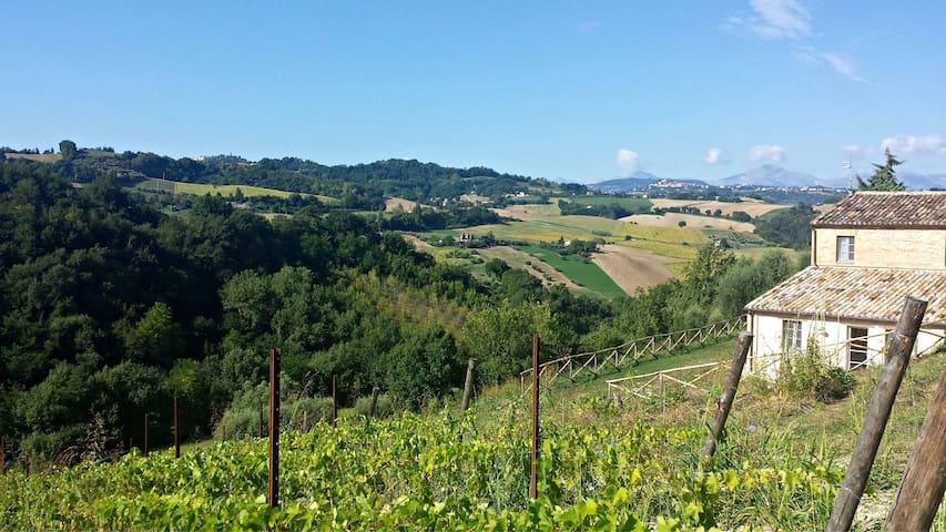 Casale Biancopecora, Casa Sanforte - Sant'Elpidio Morico - Villa