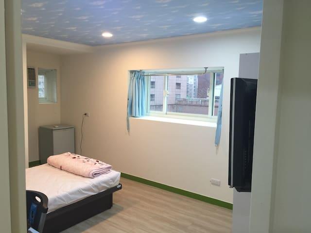 聖桃莎文旅 Sentosa Inn, 交通便捷,熱鬧方便的都市民宿~ - 桃園區 - Квартира