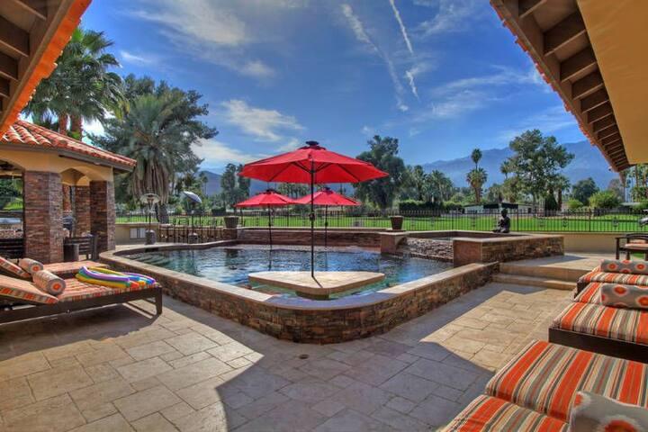Dreamers Pool - Palm Springs - Maison