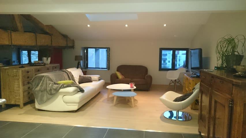 Chambres loft au coeur Villefranche - Villefranche-sur-Saône - Apartamento