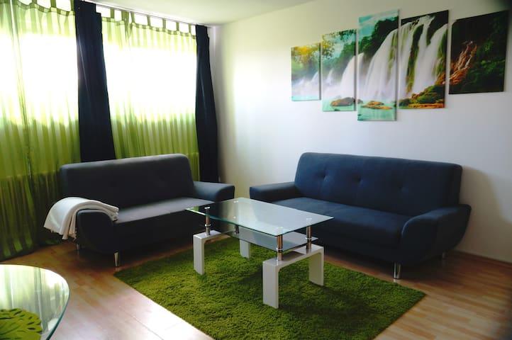 Quiet basement flat with 2. 5 rooms & 60 m ² - Winnenden - Appartement