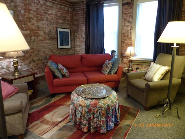Cozy 1 BR Apartment Adjacent to Downtown - Pittsburgh - Casa
