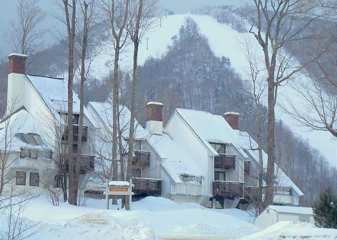 Trailside Condo - Ski In Ski Out & full amenities - Killington - Leilighet