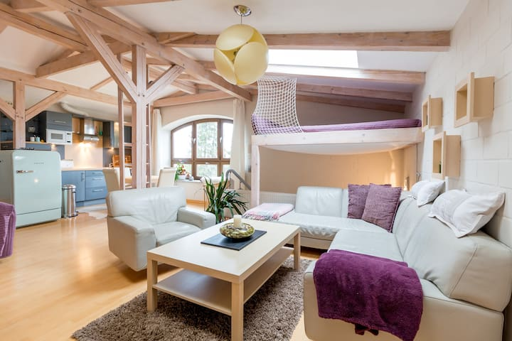 Cosy apartment on the outskirts - Росток - Квартира