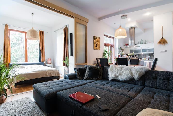 Moder house in central, swimingpool - Budapest - Hus