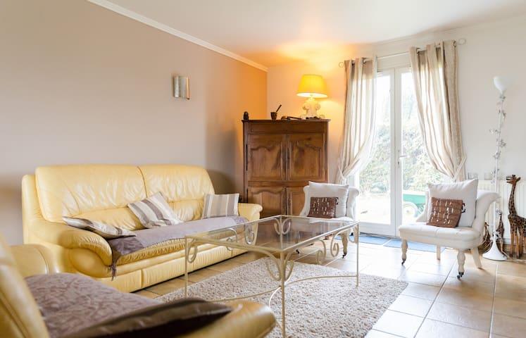 Chambre DOUBLE dans beau pavillon, 7 min de ROUEN - Le Mesnil-Esnard - Casa