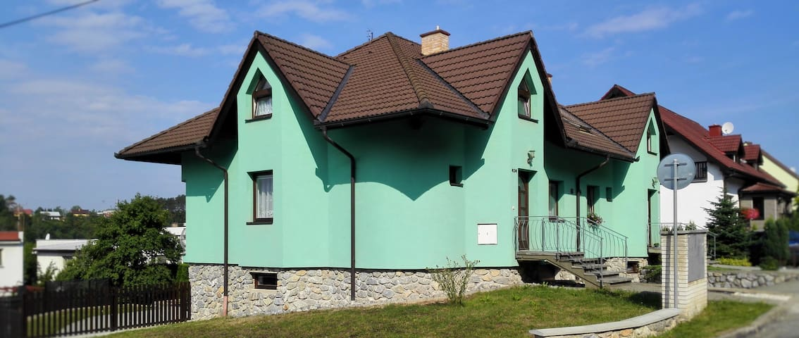 Moravský kras, Blansko - Ostrov u Macochy - Huis