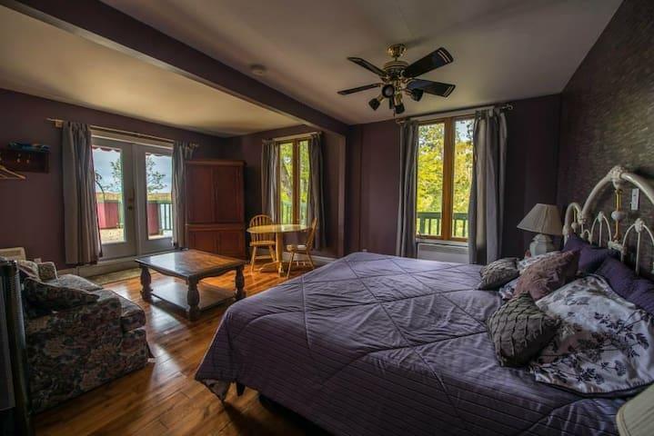 Auberge Villa Bellerive chambre de luxe - Nominingue - Leilighet