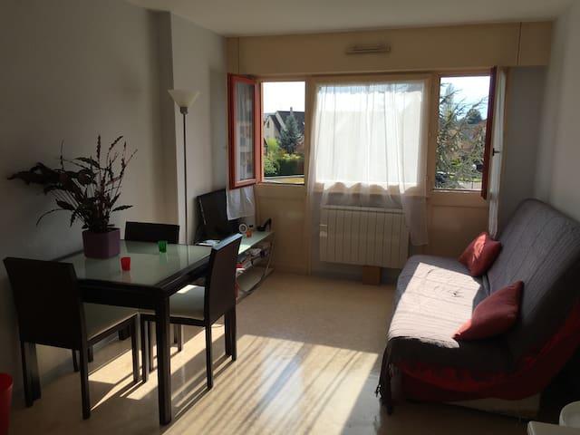 Mignon studio tout confort, tv,wifi - Illkirch-Graffenstaden - Lägenhet