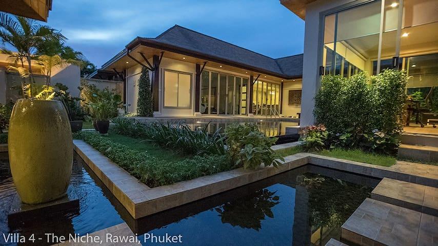 Private Feng Shui Villa - Huge Pool, Garden & more - Rawai - Vila