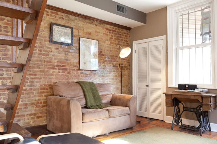 Cozy 1 BR Apt in Historic District - Pittsburgh - Daire