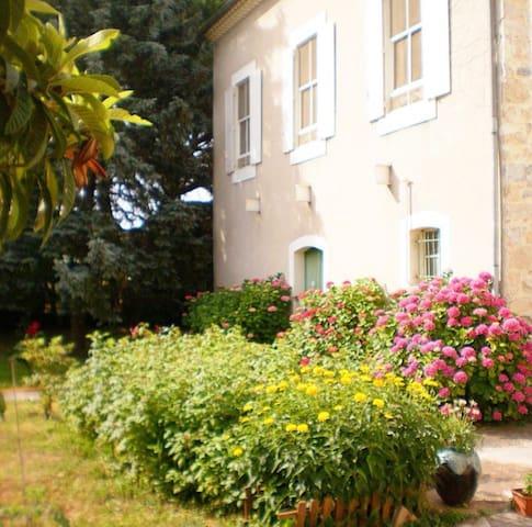 Maison avec piscine - Boucoiran-et-Nozières - Rumah