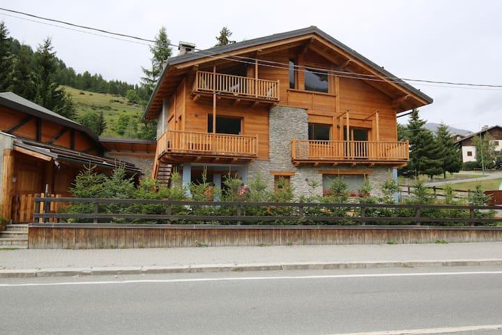 Casa di charme in chalet - Pragelato-Ruà