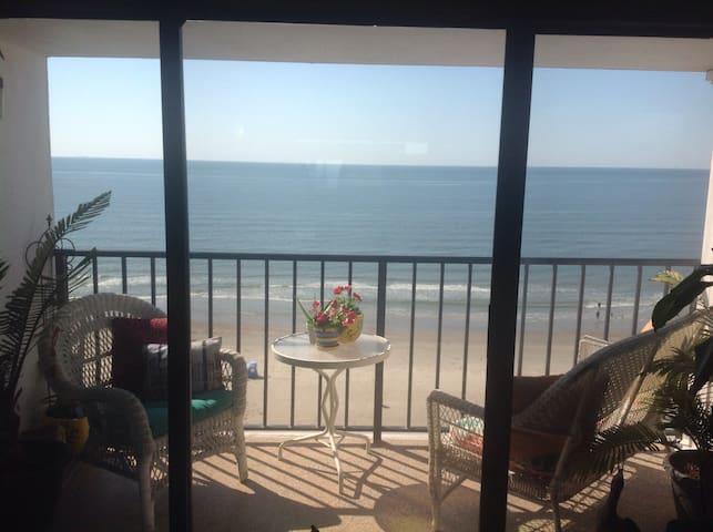 Un paraiso desde el noveno piso! - Galveston - Departamento