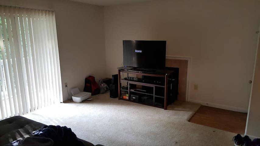 Rock Hill private room close to Charlotte! - Rock Hill - Departamento