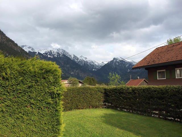 Wohnung im Bergdorf Hinterstein - Bad Hindelang - 公寓
