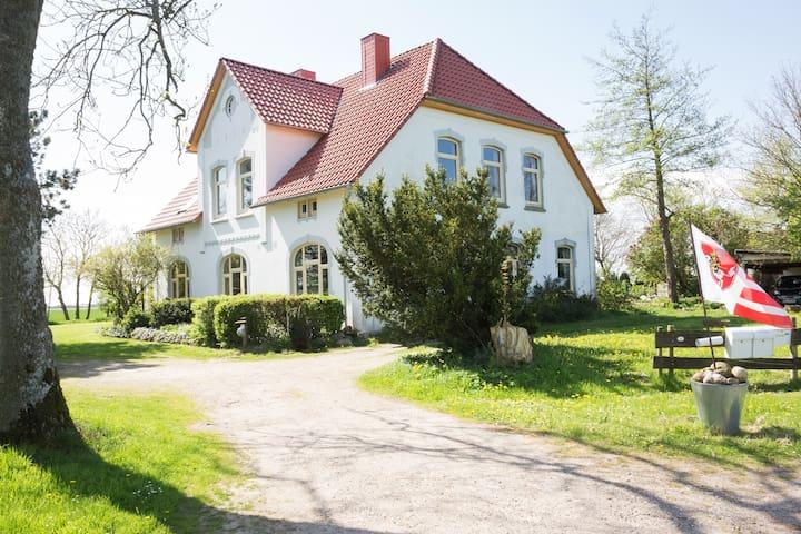 Ferienwohnung, Garten mit Badeteich - Oesterwurth - Leilighet