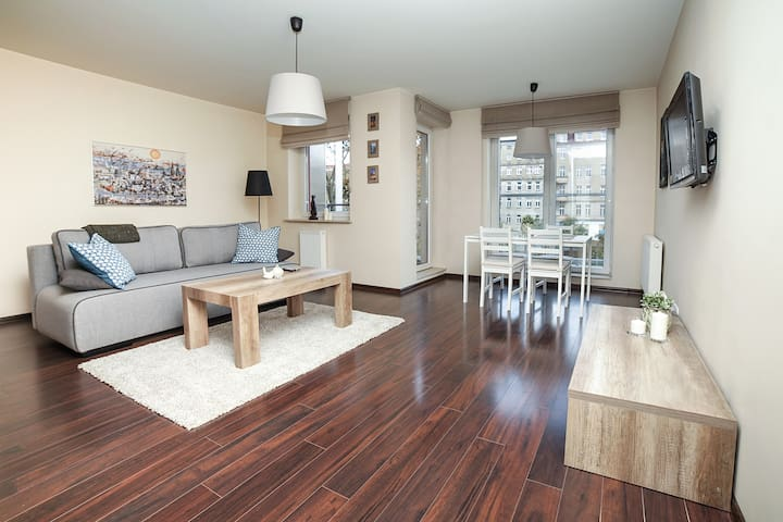 Cosy and luxurious apartment in city center. - Wrocław - Leilighet
