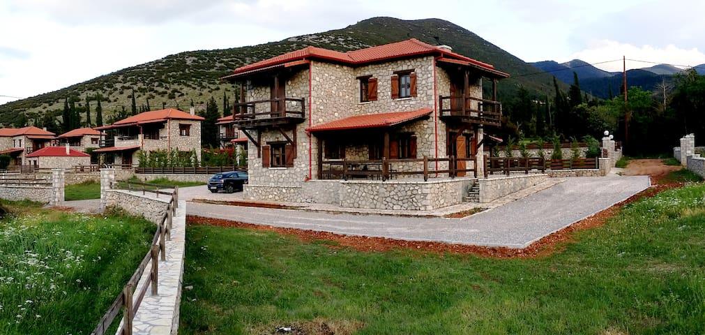 Πετρόχτιστη μεζονέτα με κήπο - Polydrosos - Casa