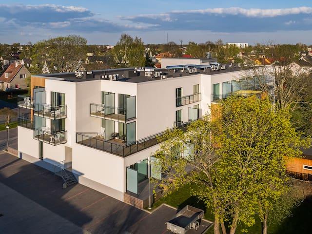 Modern Apartments near Pärnu Beach with balcony - Pärnu - Appartement