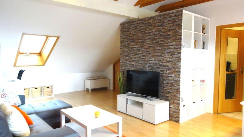 Moderne Dachterrassenwohnung mit tollem Ausblick - Gerzen