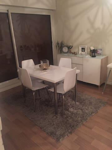 Appartement charmant - Poitiers - Huoneisto